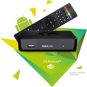 MAG260 IPTV SET-TOP BOX