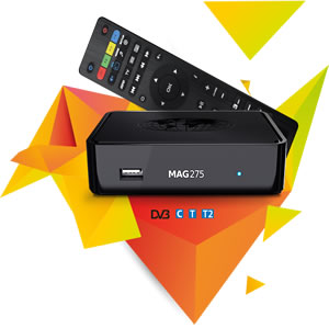 MAG275 IPTV SET-TOP BOX